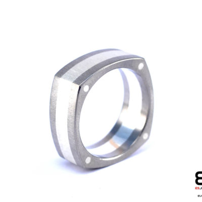 Ring - Titanium and Silver