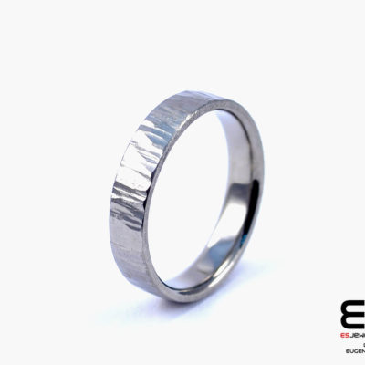 Wedding Ring - Titanium Forged