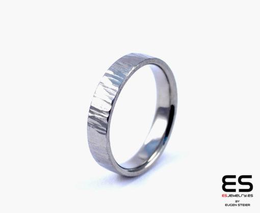 Wedding Ring - Titanium Forged
