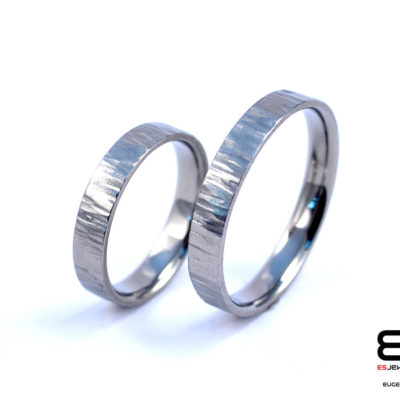 Wedding Rings - Titanium Forged