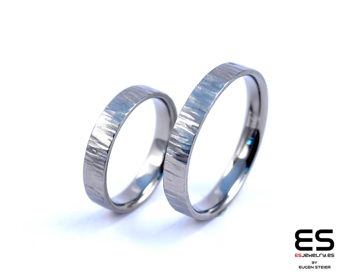 Wedding Rings – Titanium Forged