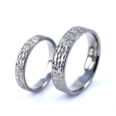Wedding Rings - Titanium