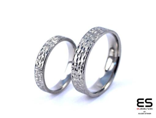 Wedding Rings - Titanium