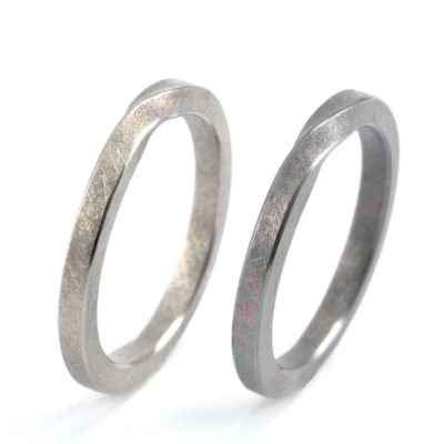 Wedding Rings - Titanium Mobius